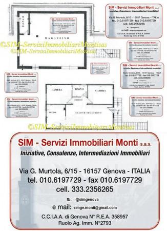 Casa indipendente in vendita a Tiglieto, Acquabona, Con giardino, 70 mq - Foto 2