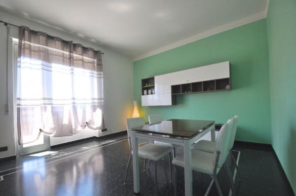 Appartamento in affitto a Genova, Sestri Ponente, 125 mq - Foto 19