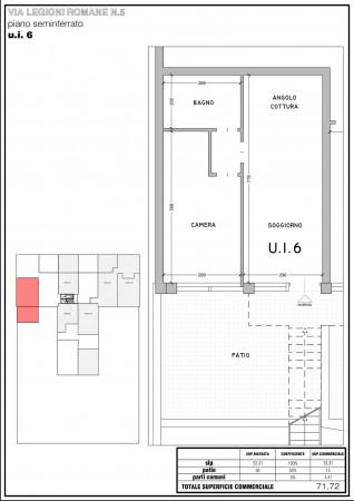 Appartamento in vendita a Milano, Bande Nere, 112 mq - Foto 21