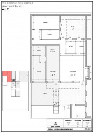 Appartamento in vendita a Milano, Bande Nere, 125 mq - Foto 9