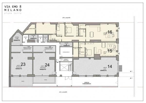 Appartamento in vendita a Milano, Crescenzago, 181 mq - Foto 3