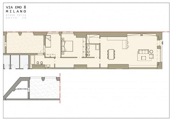 Appartamento in vendita a Milano, Crescenzago, 181 mq - Foto 2
