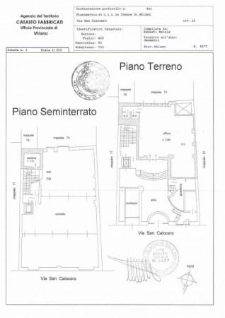 Ufficio in vendita a Milano, Corso Genova, 150 mq - Foto 2
