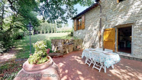 Rustico/Casale in vendita a Greve in Chianti, Vicchio, Arredato, con giardino, 420 mq - Foto 20