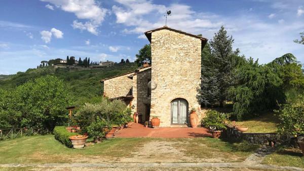 Rustico/Casale in vendita a Greve in Chianti, Vicchio, Arredato, con giardino, 420 mq
