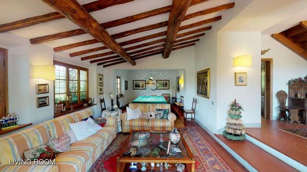 Rustico/Casale in vendita a Greve in Chianti, Vicchio, Arredato, con giardino, 420 mq - Foto 22