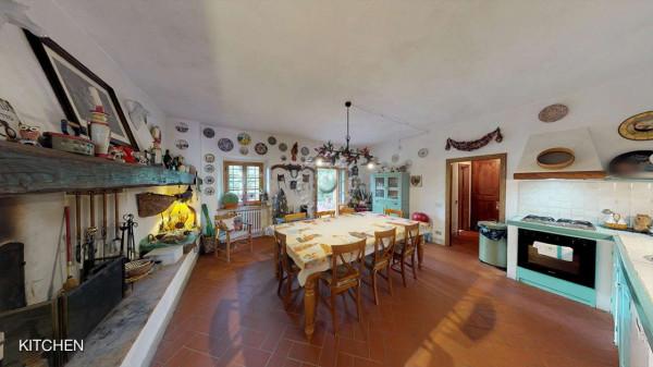 Rustico/Casale in vendita a Greve in Chianti, Vicchio, Arredato, con giardino, 420 mq - Foto 21