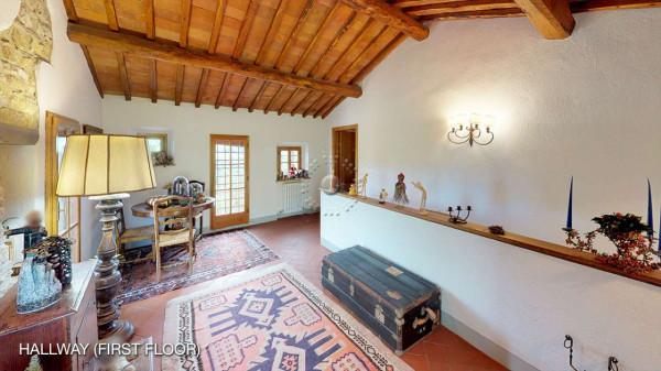 Rustico/Casale in vendita a Greve in Chianti, Vicchio, Arredato, con giardino, 420 mq - Foto 14