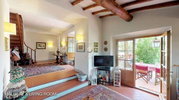 Rustico/Casale in vendita a Greve in Chianti, Vicchio, Arredato, con giardino, 420 mq - Foto 24