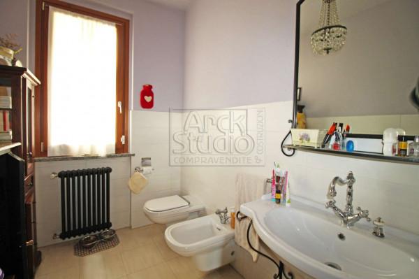 Villa in vendita a Cassano d'Adda, Groppello, Con giardino, 180 mq - Foto 12