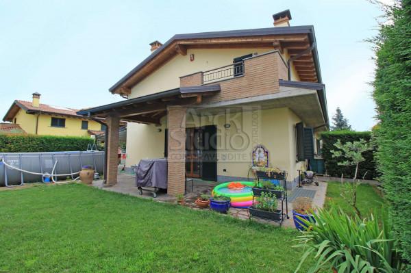 Villa in vendita a Cassano d'Adda, Groppello, Con giardino, 180 mq - Foto 11