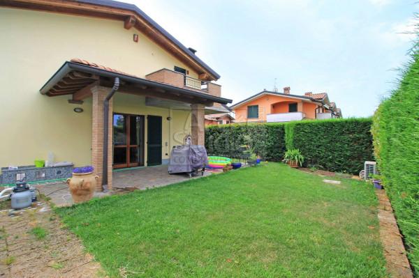 Villa in vendita a Cassano d'Adda, Groppello, Con giardino, 180 mq - Foto 16