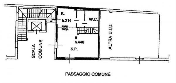 Appartamento in affitto a Milano, Navigli, Arredato, con giardino, 60 mq - Foto 5
