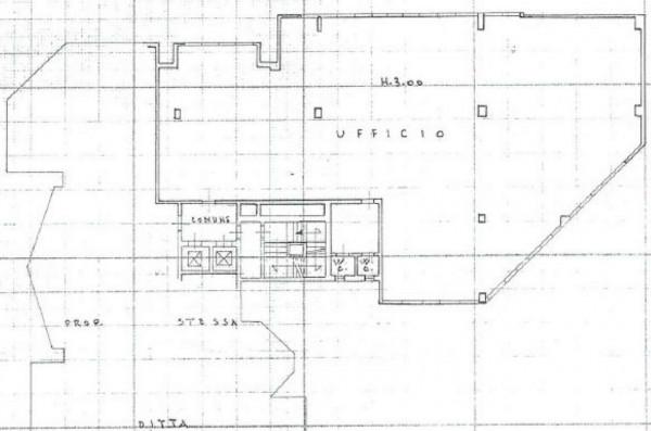 Ufficio in vendita a Brescia, Bresciadue, 1076 mq - Foto 3