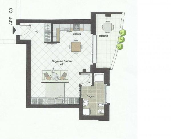 Appartamento in affitto a Caronno Pertusella, Stazione, Arredato, 50 mq