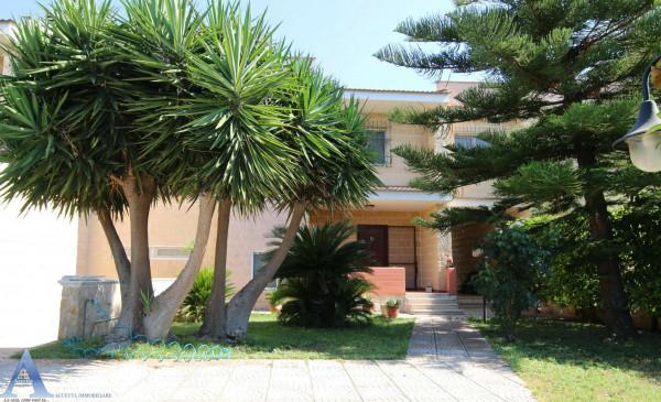 Villa in vendita a Taranto, Lama, Con giardino, 213 mq - Foto 3