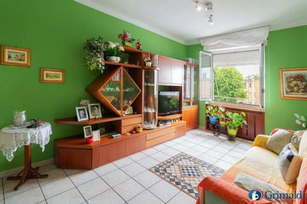 Appartamento in vendita a Milano, San Siro, Con giardino, 80 mq