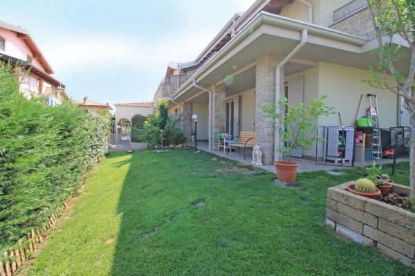 Villetta a schiera in vendita a Cassano d'Adda, Con giardino, 150 mq