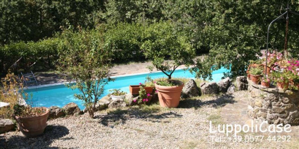 Villa in vendita a Castelnuovo Berardenga, Con giardino, 285 mq