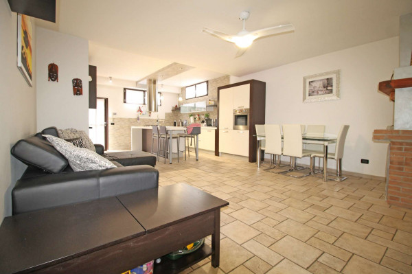 Villa in vendita a Cassano d'Adda, Groppello, Arredato, con giardino, 206 mq - Foto 17