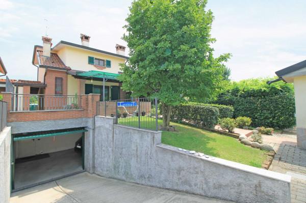 Villa in vendita a Cassano d'Adda, Groppello, Arredato, con giardino, 206 mq - Foto 21