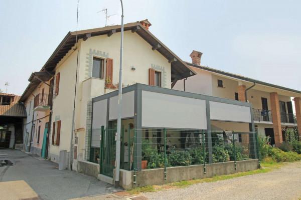 Casa indipendente in vendita a Cassano d'Adda, Albignano, Con giardino, 105 mq