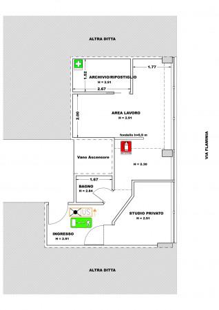 Ufficio in affitto a Spoleto, Centro, 38 mq