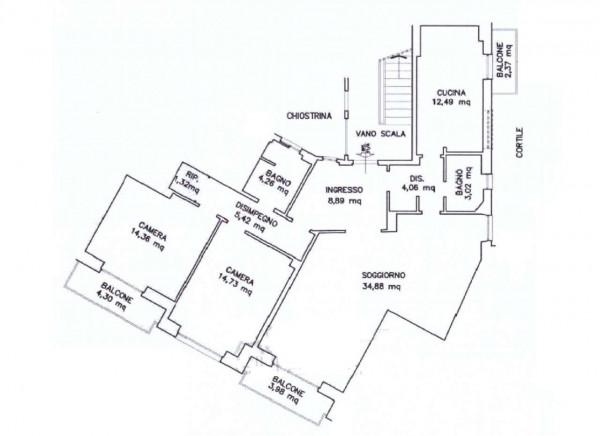 Appartamento in vendita a Roma, Laurentina - Cristoforo Colombo, Arredato, 120 mq - Foto 6