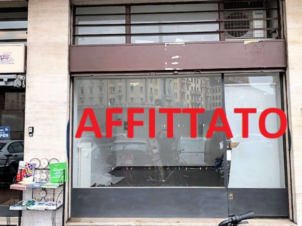 Negozio in affitto a Milano, Via Washington