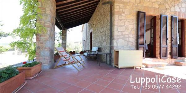 Villa in vendita a Castelnuovo Berardenga, Arredato, con giardino, 318 mq - Foto 4