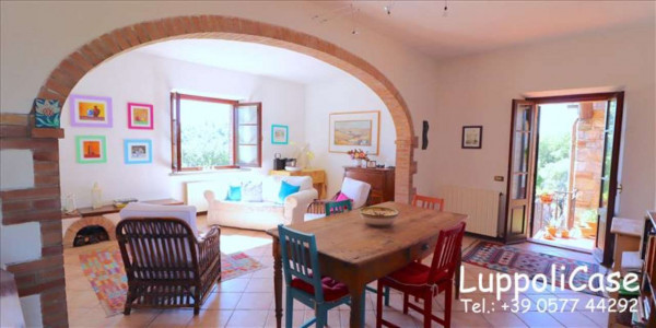 Villa in vendita a Castelnuovo Berardenga, Arredato, con giardino, 318 mq - Foto 40