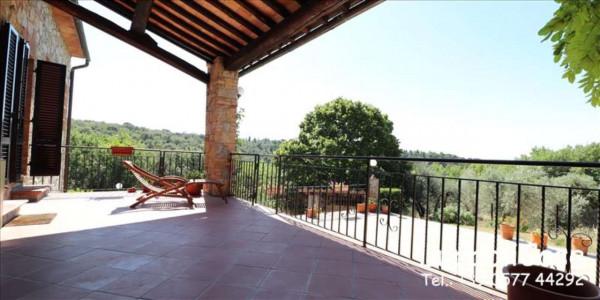 Villa in vendita a Castelnuovo Berardenga, Arredato, con giardino, 318 mq - Foto 3