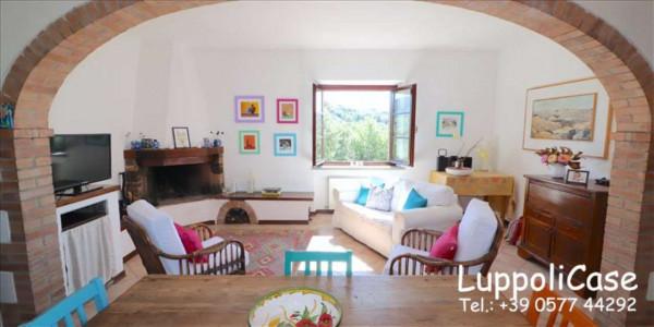 Villa in vendita a Castelnuovo Berardenga, Arredato, con giardino, 318 mq - Foto 41