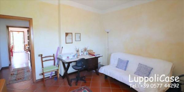 Villa in vendita a Castelnuovo Berardenga, Arredato, con giardino, 318 mq - Foto 23