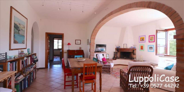 Villa in vendita a Castelnuovo Berardenga, Arredato, con giardino, 318 mq - Foto 44