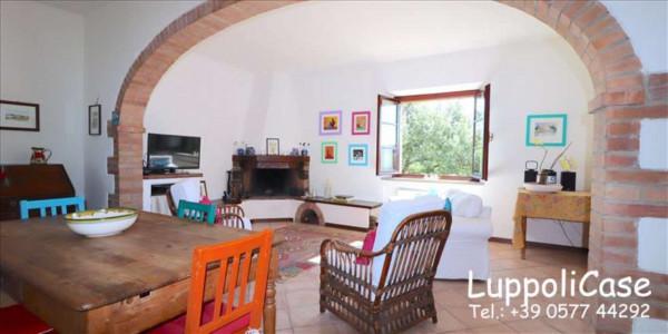 Villa in vendita a Castelnuovo Berardenga, Arredato, con giardino, 318 mq - Foto 45