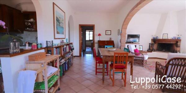 Villa in vendita a Castelnuovo Berardenga, Arredato, con giardino, 318 mq - Foto 43