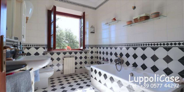 Villa in vendita a Castelnuovo Berardenga, Arredato, con giardino, 318 mq - Foto 31