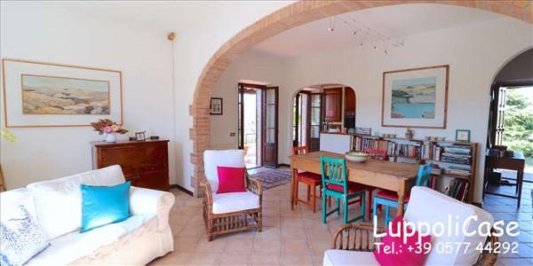 Villa in vendita a Castelnuovo Berardenga, Arredato, con giardino, 318 mq - Foto 35