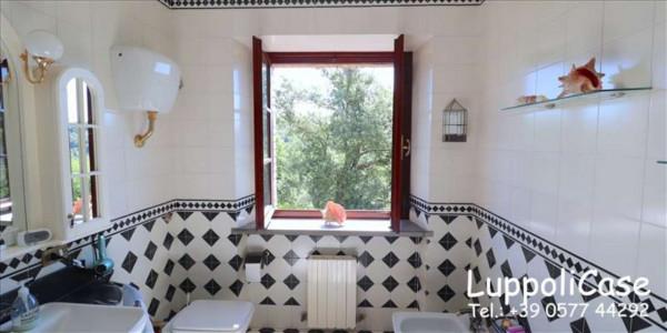 Villa in vendita a Castelnuovo Berardenga, Arredato, con giardino, 318 mq - Foto 30