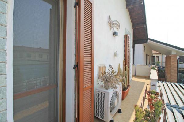 Casa indipendente in vendita a Truccazzano, Albignano, Con giardino, 105 mq - Foto 9