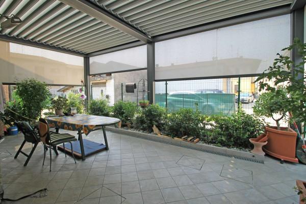 Casa indipendente in vendita a Truccazzano, Albignano, Con giardino, 105 mq - Foto 16