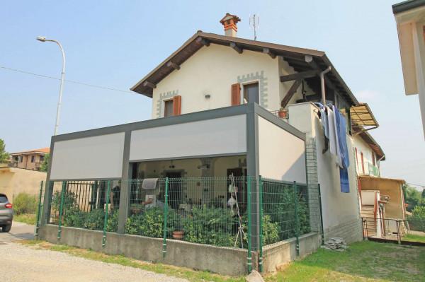 Casa indipendente in vendita a Truccazzano, Albignano, Con giardino, 105 mq - Foto 3
