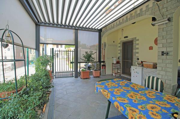 Casa indipendente in vendita a Truccazzano, Albignano, Con giardino, 105 mq - Foto 15