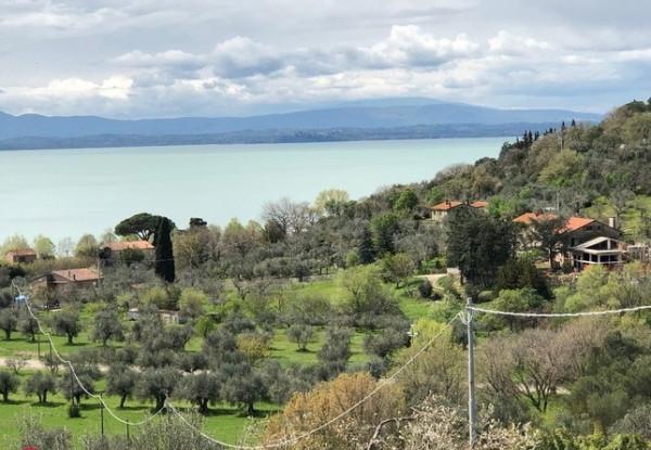 Villa in vendita a Passignano sul Trasimeno, San Donato, Con giardino, 268 mq