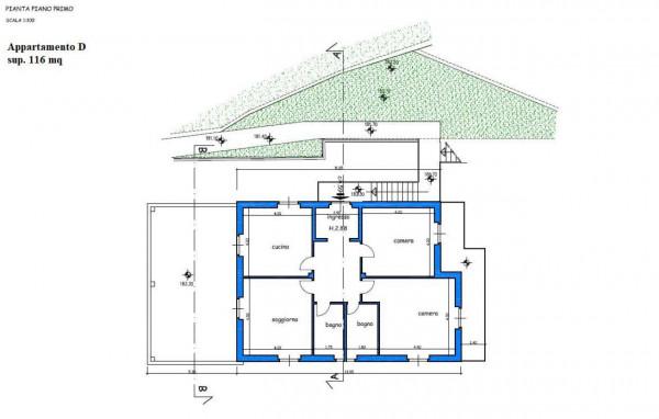 Appartamento in vendita a Leivi, Prima Collina, Con giardino, 116 mq - Foto 2