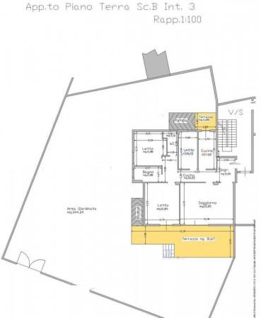 Appartamento in vendita a Anzio, Con giardino, 179 mq - Foto 3
