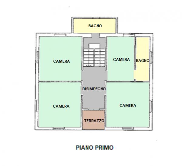 Casa indipendente in vendita a Trevi, Santa Maria In Valle, Con giardino, 200 mq - Foto 17