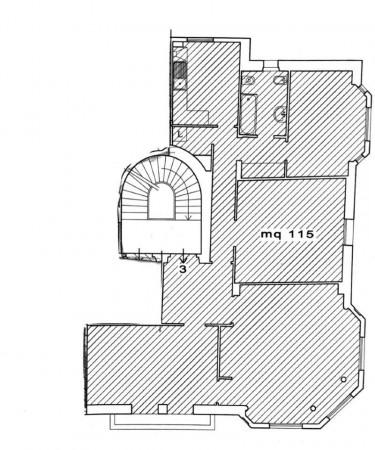 Appartamento in affitto a Genova, Sestri Ponente, Arredato, 115 mq - Foto 2