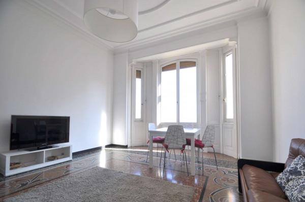 Appartamento in affitto a Genova, Sestri Ponente, Arredato, 115 mq